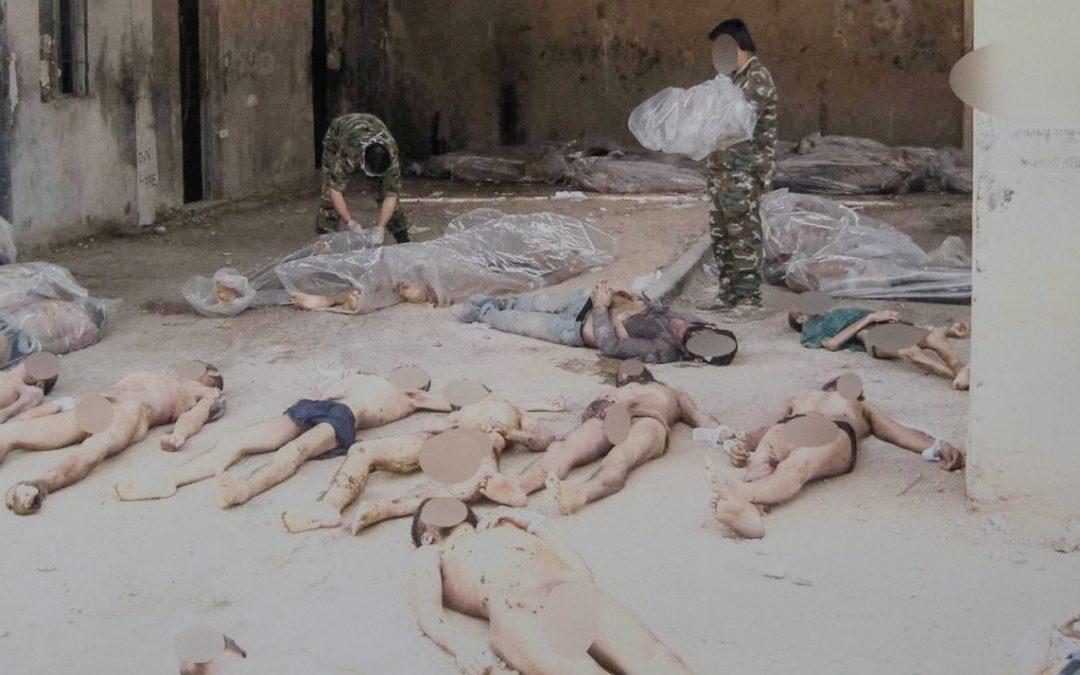 NO MORE SILENCE                                        Testimonianze dell'orrore nelle carceri della Siria