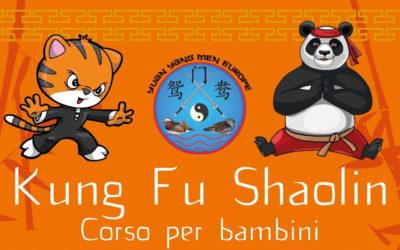 Kung Fu Shaolin – corso per bambini